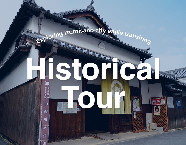 Exploring Izumisano during your transit time <br>Historical Sightseeing Trip