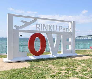 Rinku Park, a new spot for lovers!